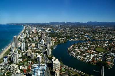 Gold Coast - Areas covered